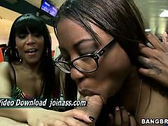 Hammer Bella And Jayla Foxx Sexy Brunette Sluts