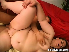 Nasty big boobed fat redhead slut part3