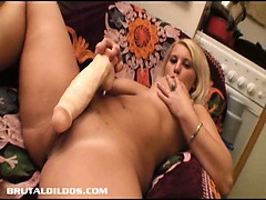 blonde-with-big-natural-tits-gaped-by-a-brutal-dildo