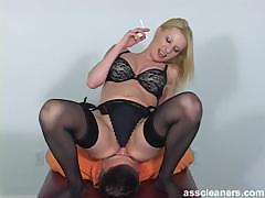 blonde-mistress-in-bikini-facesits-a-man-for-ass-licking