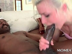 Bitchy Blonde Fucking And Giving Bj Gets Mouth Cumfilled