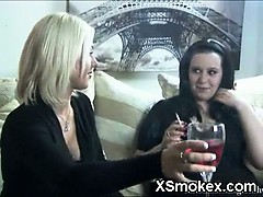 Explicit Girl Smoking Wild XXX