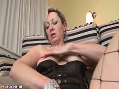 Dirty mature woman goes crazy part4