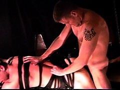 cbt-i-fuck-my-young-muscular-sub-he-restrained-in-a-sling