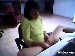 spying-mom-masturbating-in-her-office