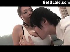 Busty Asian Stepmother Gets Fucked 2