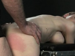 Busty Bdsm Brunette Spanked And Anal Fucked
