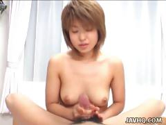 cute-asian-girl-akira-sakamoto-handjob-and-cum-swallow