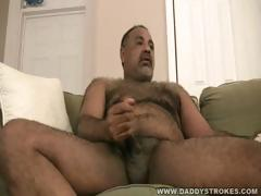 stocky-daddy-plays-with-his-dick