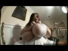 Teasing 56jjjs Big Tits In Cleavage Gushing Outfit 