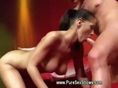hot-babe-wants-his-cock-out-to-suck-on-stage-at-sex-show