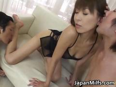 Fine Ass Slut Jun Kusanagi In Gangbang Part1