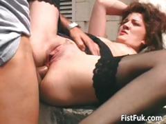 brunette-mature-whore-fucked-on-terrace-part1