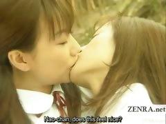 subtitled-lesbian-japanese-schoolgirls-forest-dalliance