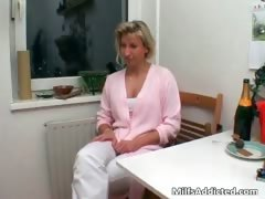 Horny And Slutty Brunette Milf Shaves Part3