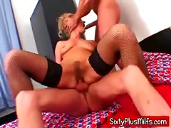 Hardcore Double Dicked Mature Slut